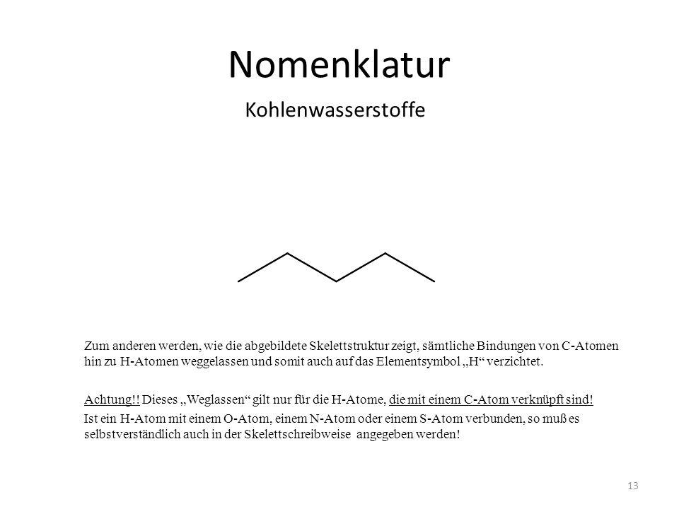 Nomenklatur Kohlenwasserstoffe - ppt herunterladen