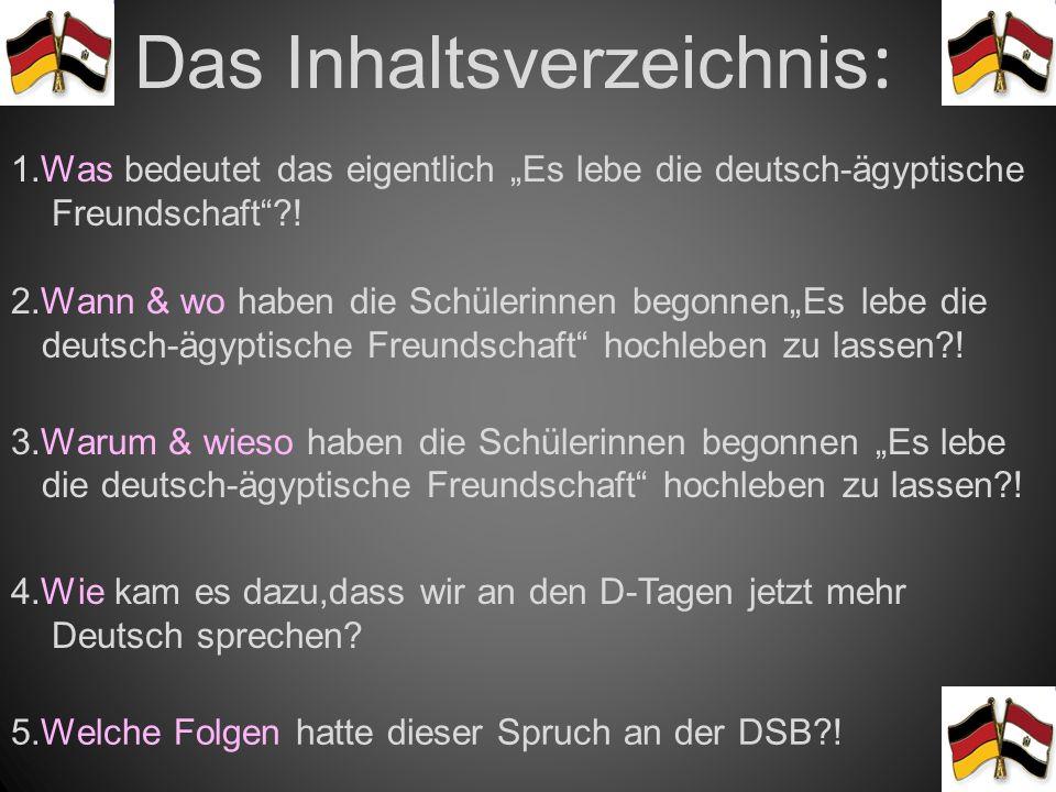 Lang Lebe Die Deutsch ägyptische Freundschaft Ppt Video Online