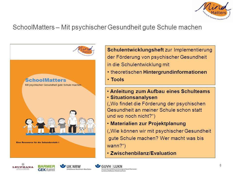Agenda MindMatters – Einführung in das Programm - ppt herunterladen