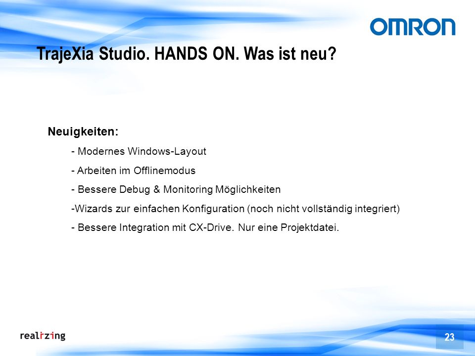 TrajeXia Studio. HANDS ON. Was ist neu