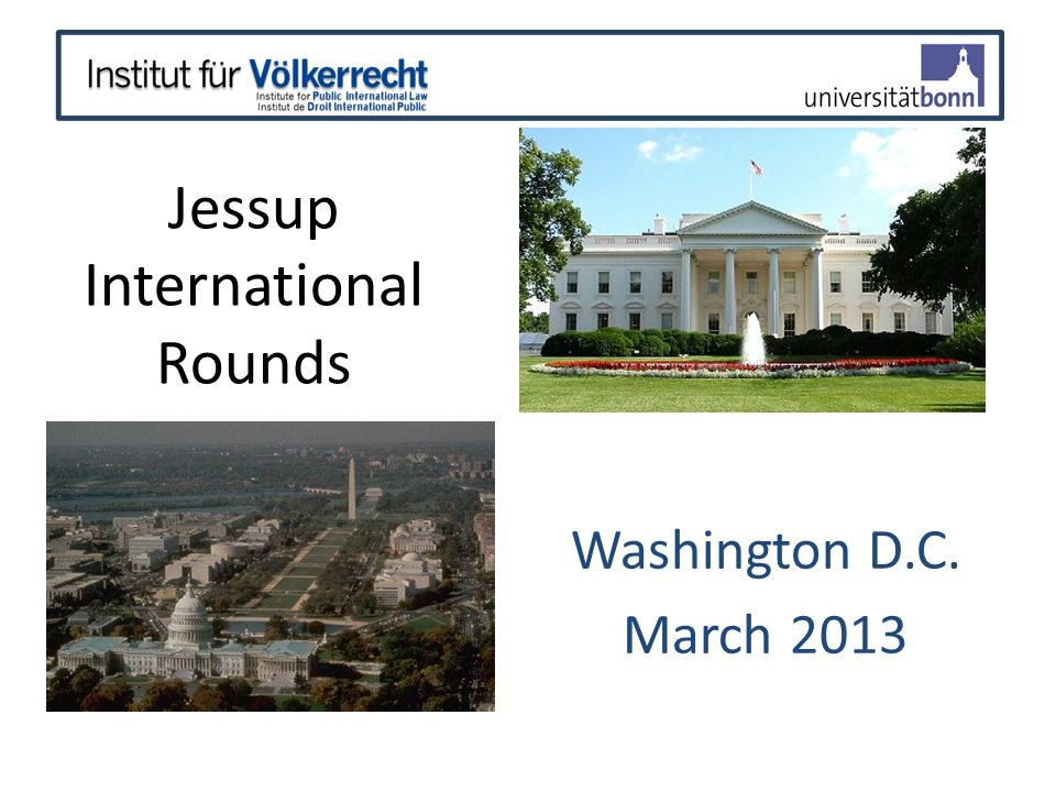 Jessup International Rounds