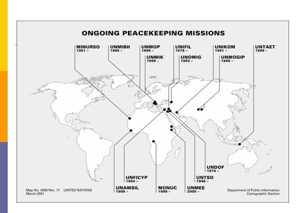 Peacekeeping Map