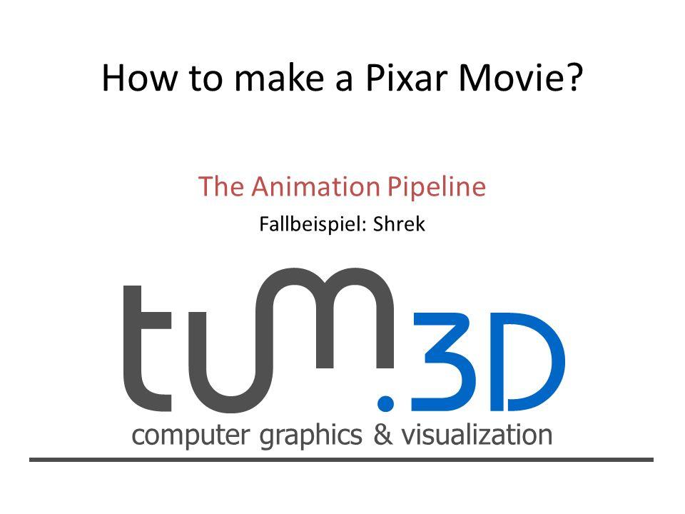 How to make a Pixar Movie? - ppt herunterladen