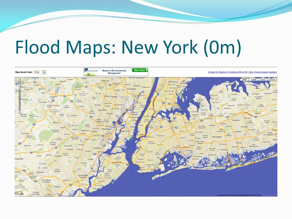 Flood Maps: New York (0m)