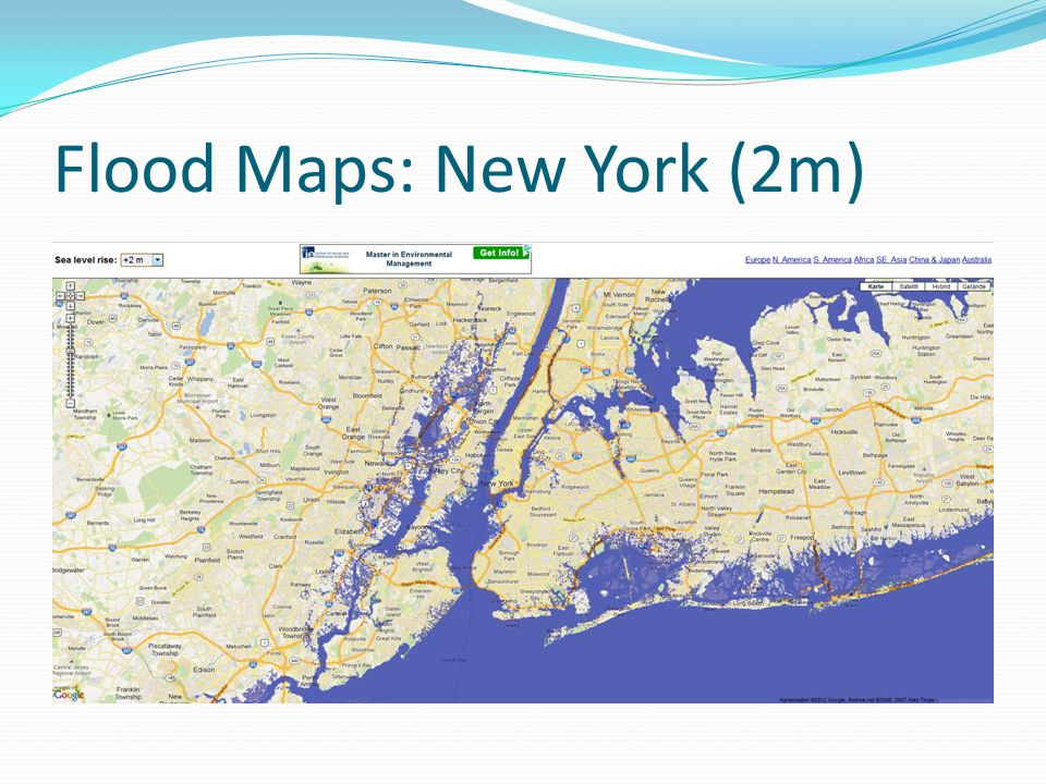 Flood Maps: New York (2m)