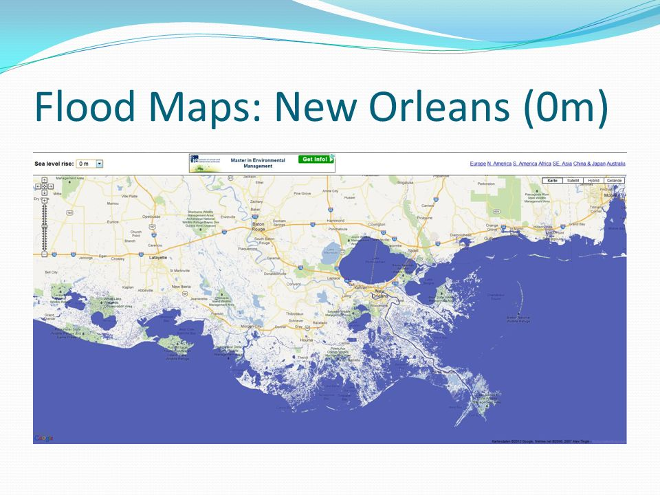 Flood Maps: New Orleans (0m)