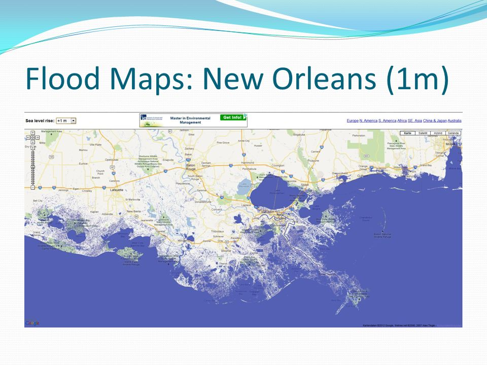 Flood Maps: New Orleans (1m)