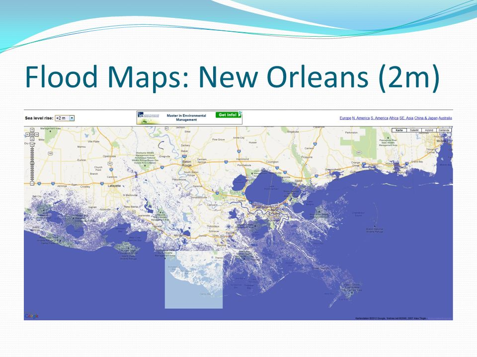 Flood Maps: New Orleans (2m)