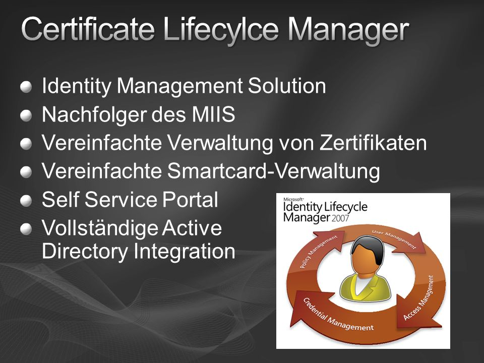 Certificate Lifecylce Manager