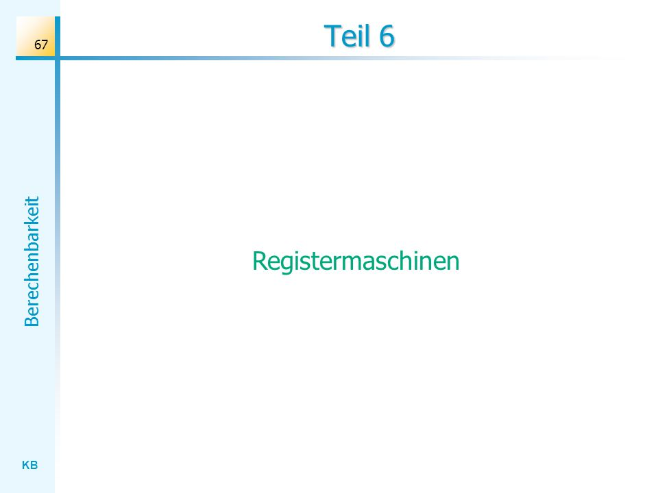 Teil 6 Registermaschinen