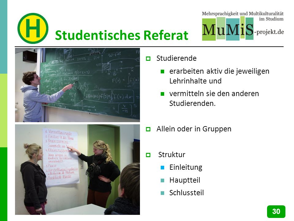Studentisches Referat