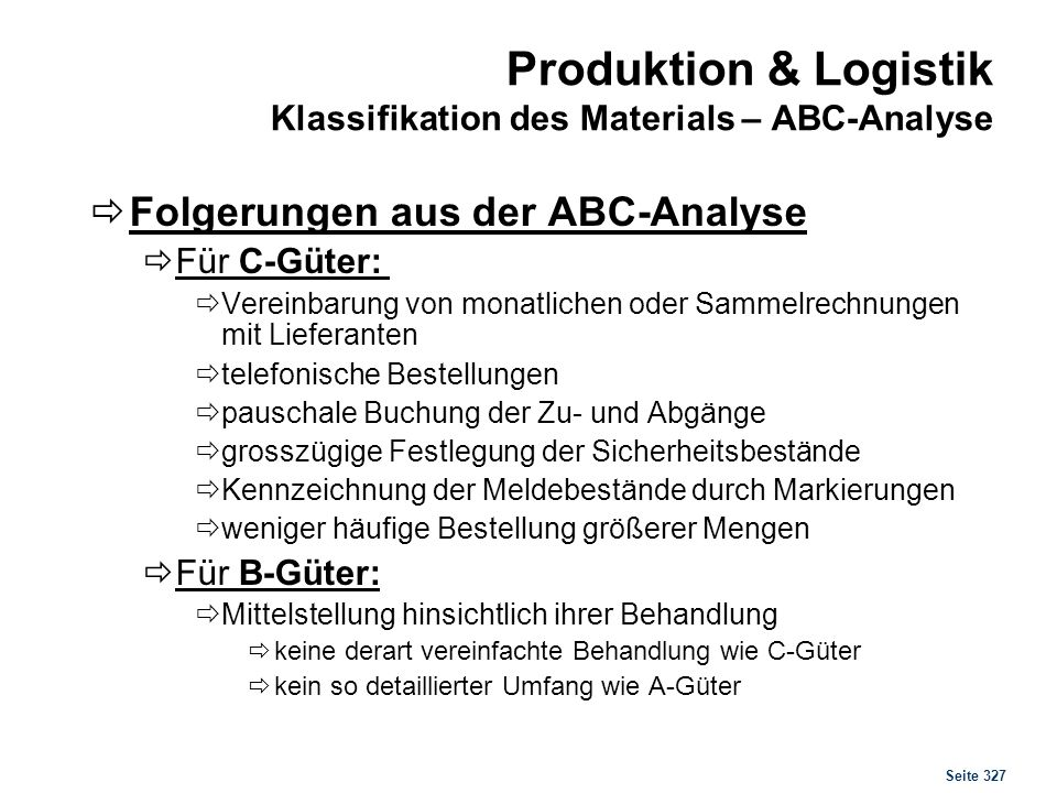 Produktion & Logistik Sourcing Konzepte