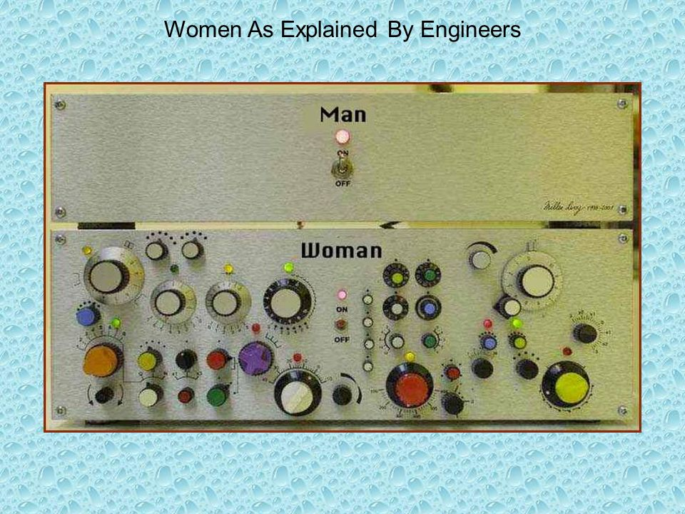 Women As Explained By Engineers