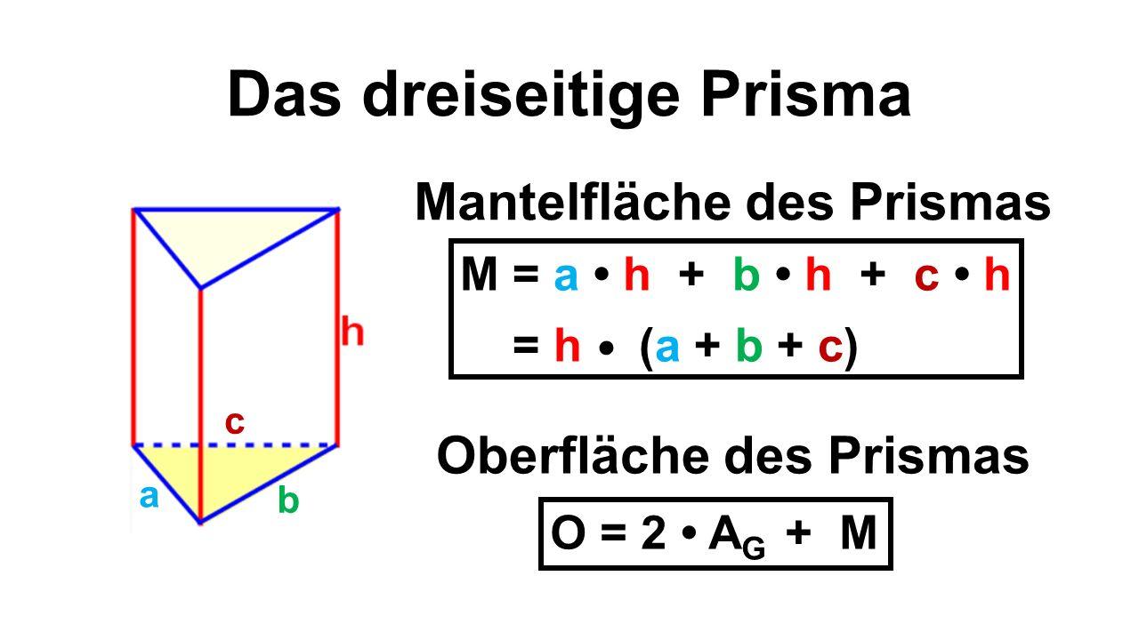 Wunderbar Volumen Eines Dreieckigen Prismas Arbeitsblatt Galerie ...
