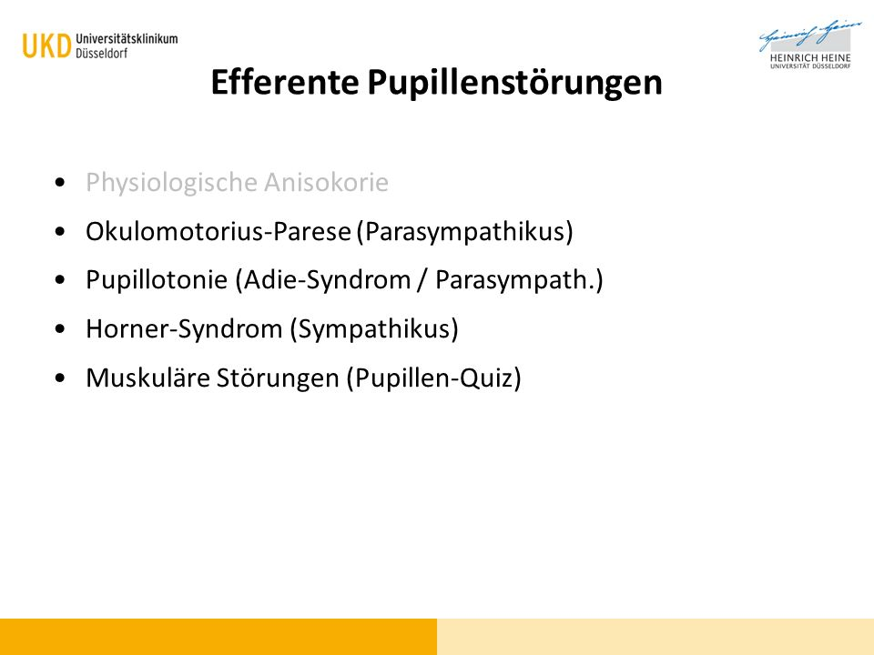 Blickdiagnose? Horner-Syndrom. - ppt video online herunterladen