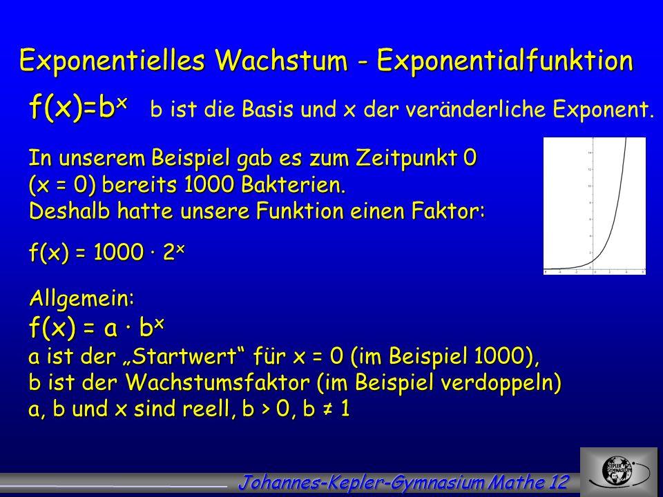 Exponentielles Wachstum - ppt video online herunterladen