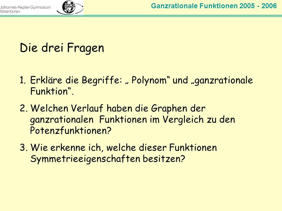 Plenum Ganzrationale Funktionen - ppt herunterladen