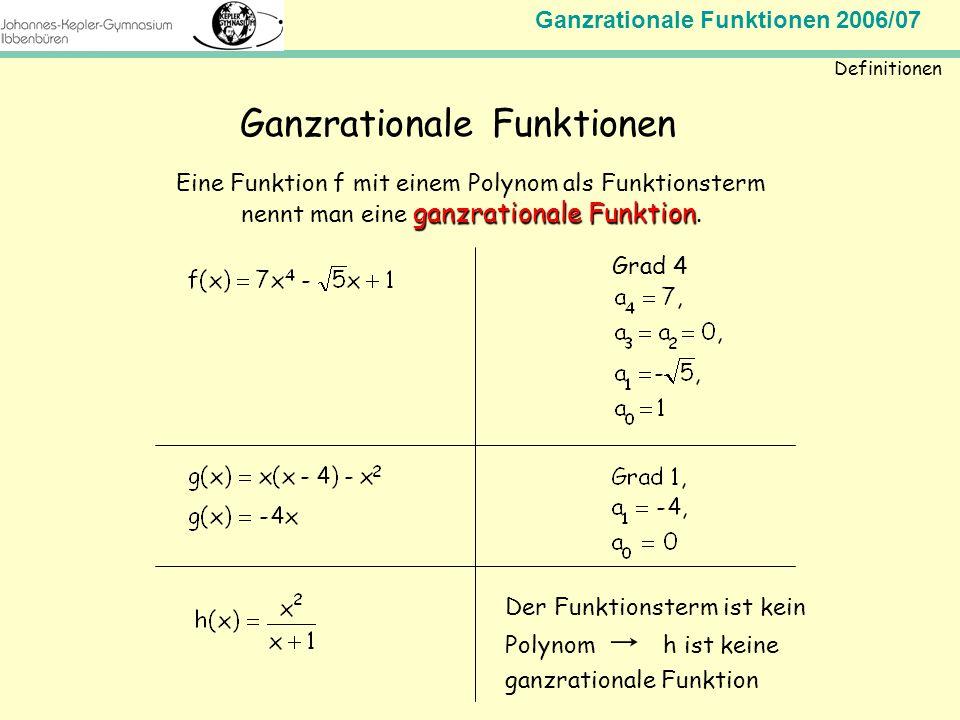 Ganzrationale Funktionen - ppt video online herunterladen on