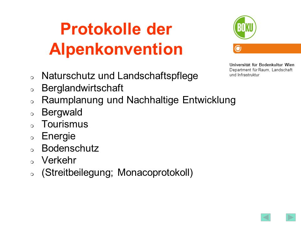 Protokolle der Alpenkonvention