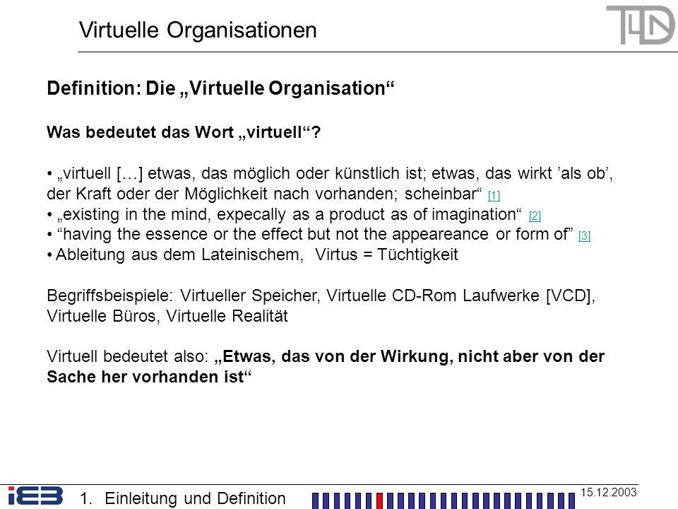 was heißt virtuell