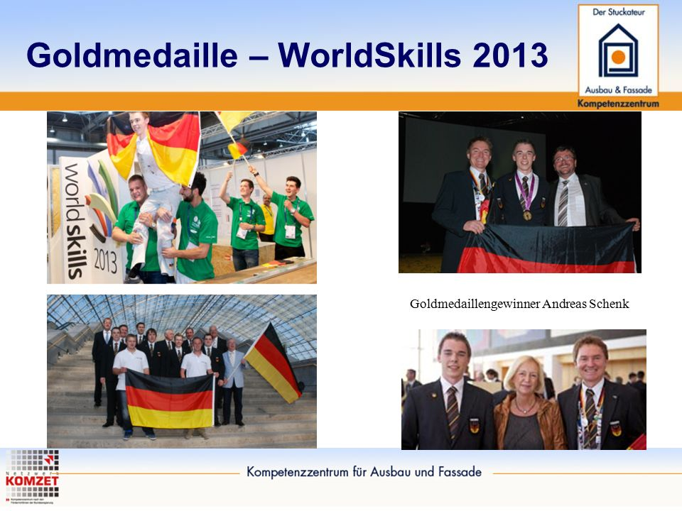 Goldmedaille – WorldSkills 2013