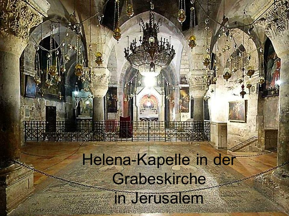 Helena-Kapelle in der Grabeskirche in Jerusalem