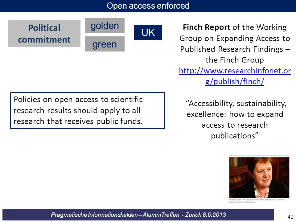 golden Political UK commitment green