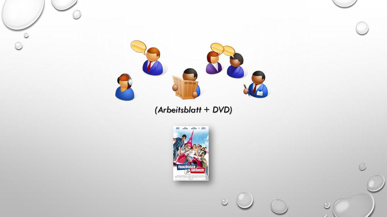 Arbeitsblatt + DVD). (Arbeitsblatt + DVD) MENÜ FILMPLAKAT ...