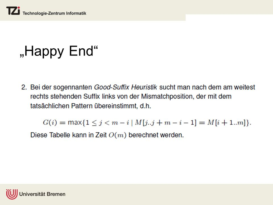 """Happy End"