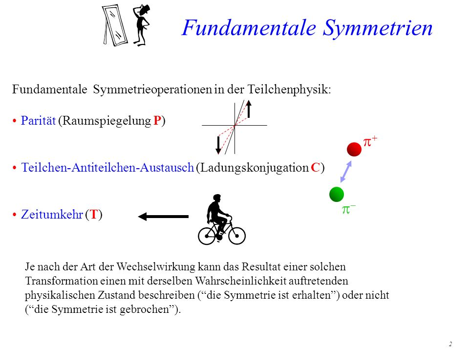 Fundamentale Symmetrien