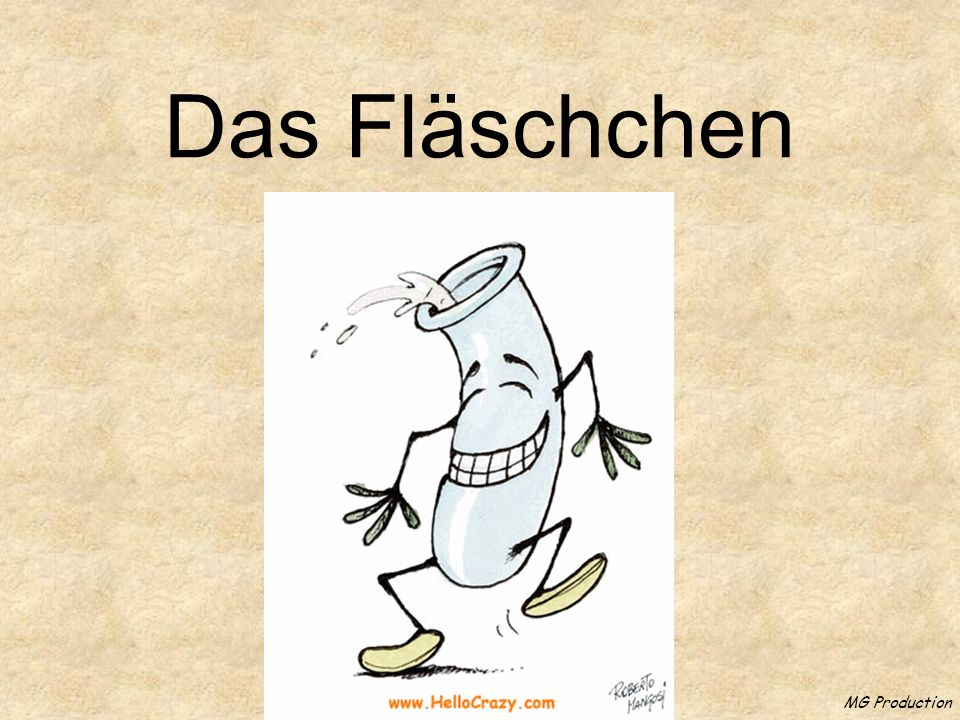 Das Fläschchen MG Production