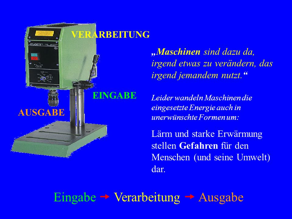 Die Tischbohrmaschine - ppt herunterladen