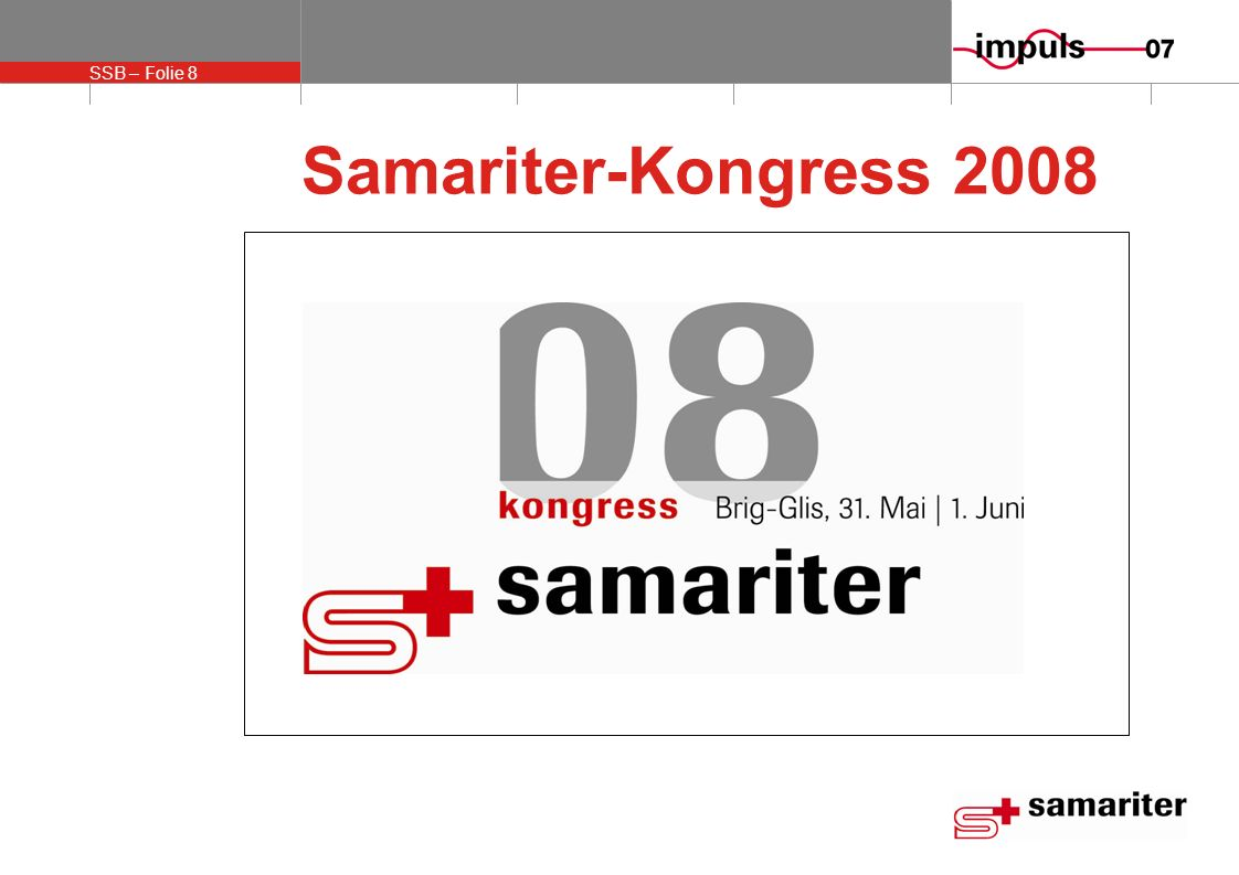 Samariter-Kongress 2008