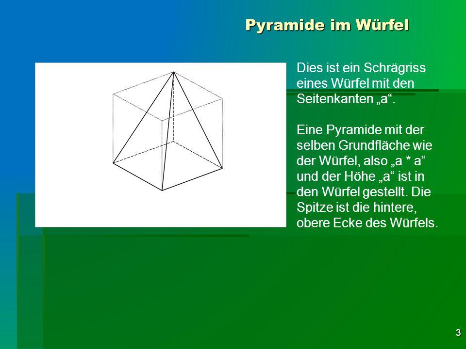 Ungewöhnlich Volumen Von Kegeln Und Pyramiden Arbeitsblatt Galerie ...