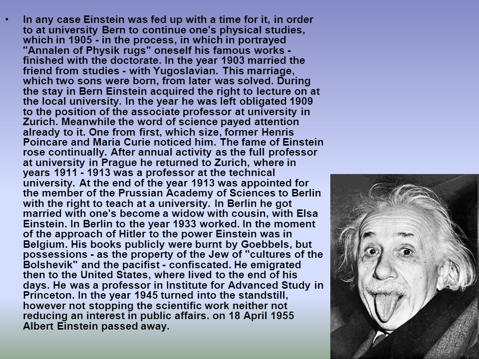 In any case Einstein was fed up with a time for it, in order to at university Bern to continue one s physical studies, which in 1905 - in the process, in which in portrayed Annalen of Physik rugs oneself his famous works - finished with the doctorate.