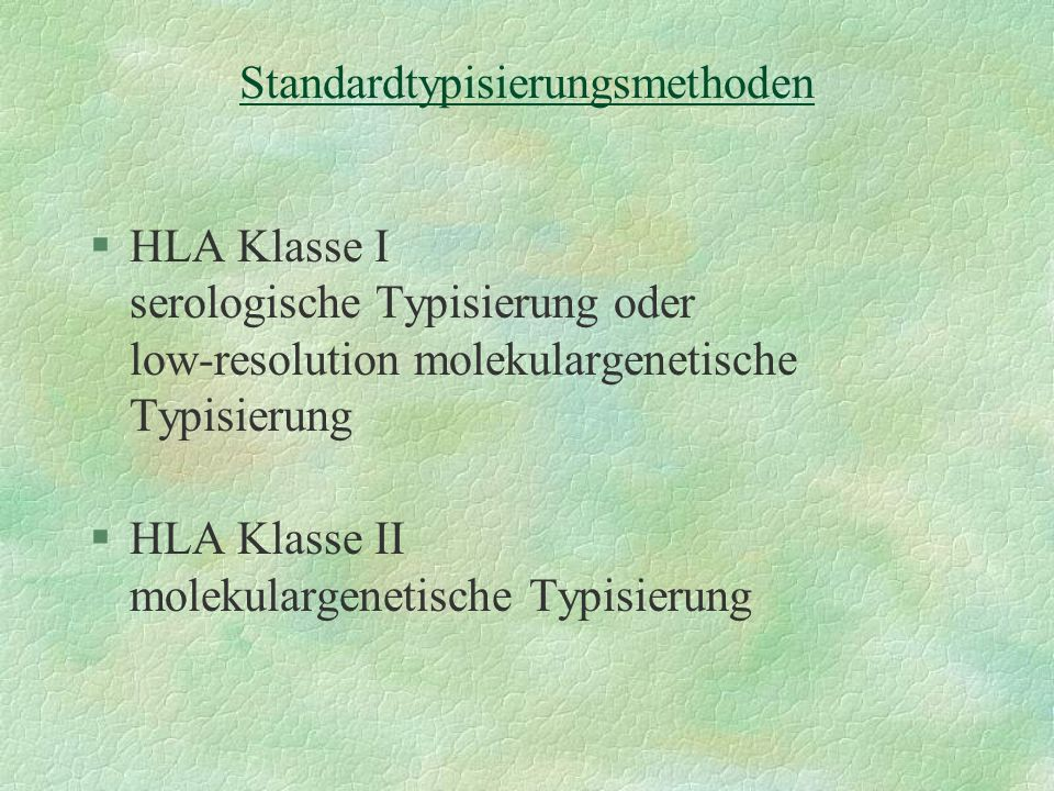 Standardtypisierungsmethoden