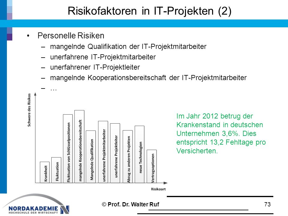 Risikofaktoren in IT-Projekten (2)