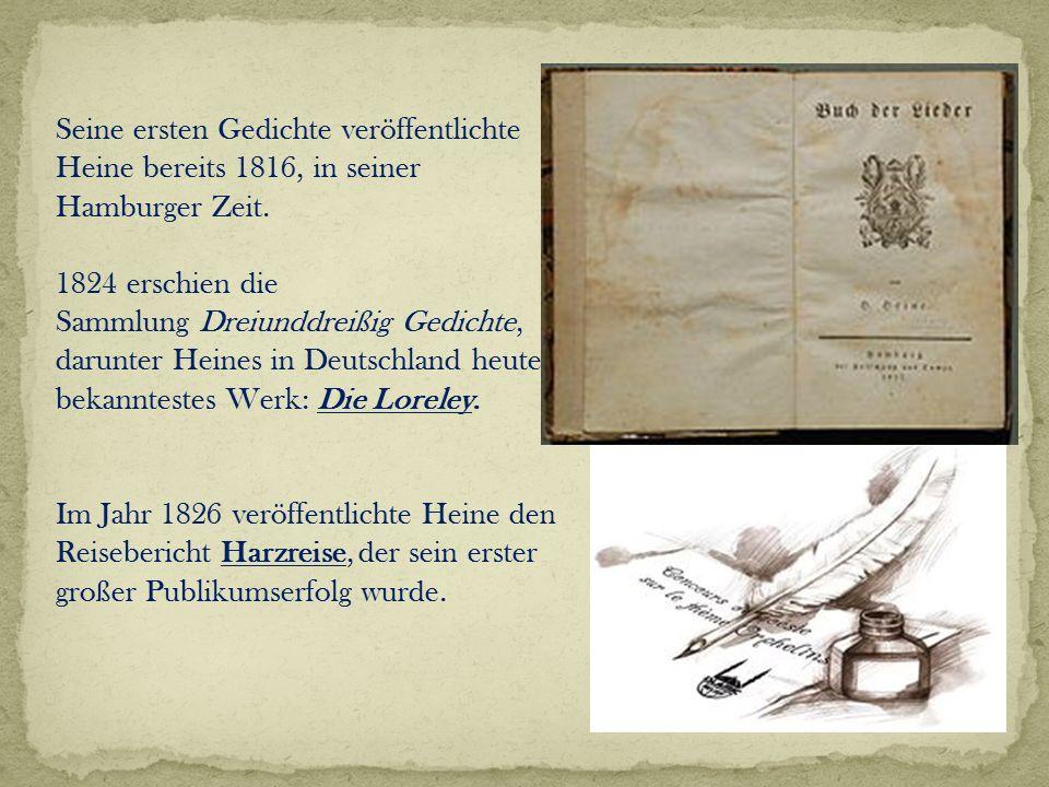 Heinrich Heine Die Lorelei Ppt Video Online Herunterladen