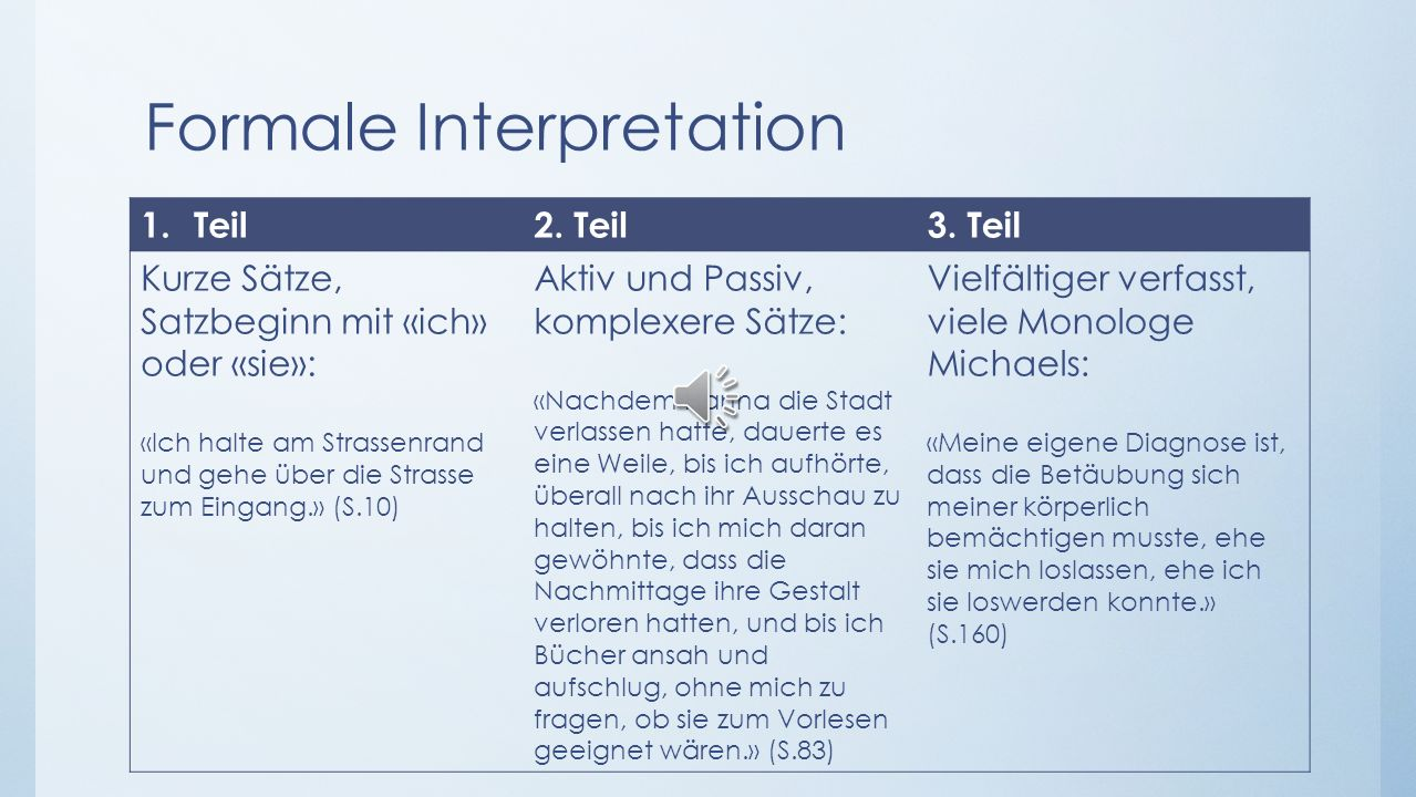 Formale Interpretation