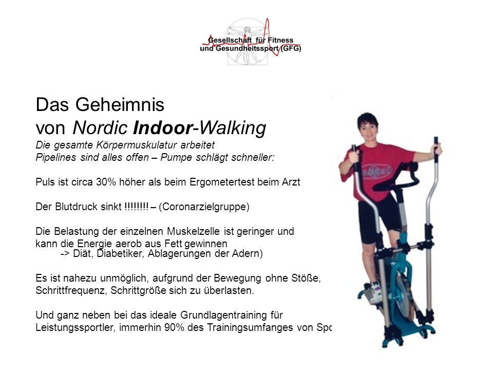 von Nordic Indoor-Walking