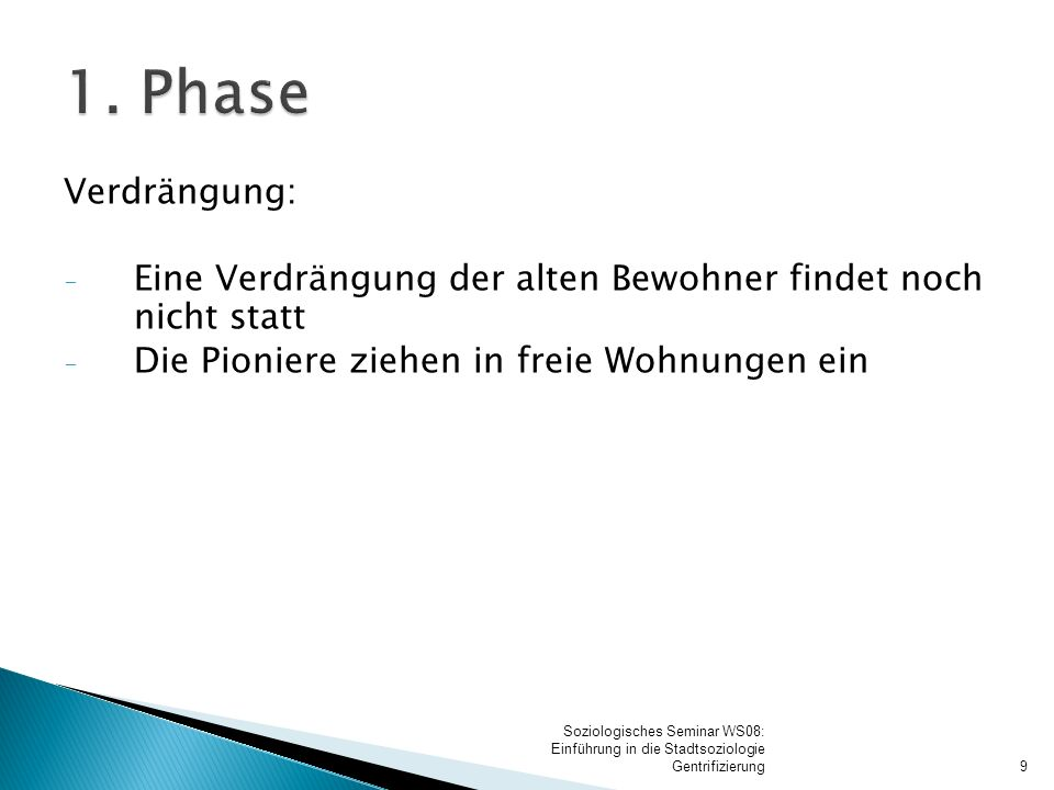 2. Phase Soziale Gruppen: