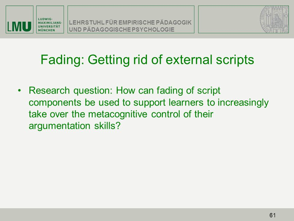 Fading: Getting rid of external scripts